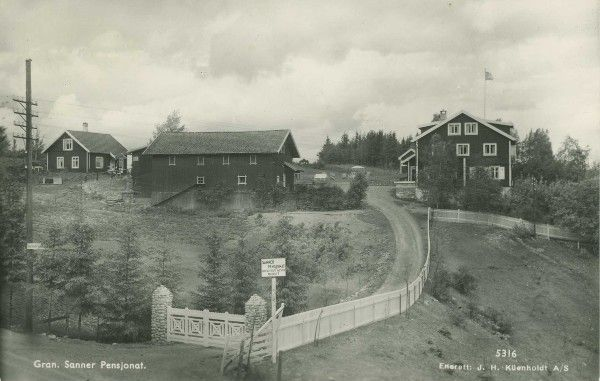 Sanner guesthouse in 1940